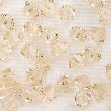 4mm Swarovski 5328 Xilion Silk - 50